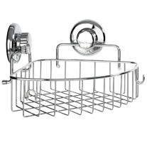 Suction Cup Corner Shower Caddy (1 tier) HA-73131B