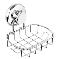 Suction Cup Soap Basket with Hooks HA-73121B